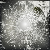 Abstract Shatter Background. Abstract Background illustration of holed and shattered glass Stock Images