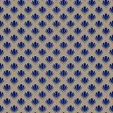 Abstract shell naadloos patroon Royalty-vrije Stock Foto