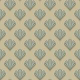 Abstract shell naadloos patroon Royalty-vrije Stock Afbeeldingen