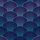 Abstract shell seamless pattern Royalty Free Stock Images