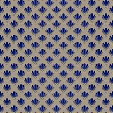 Abstract Shell Seamless Pattern Royalty Free Stock Photo