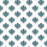 Abstract Shell Seamless Pattern Royalty Free Stock Photography