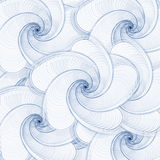 Abstract shells background. Abstract see shells background in blue and white Royalty Free Stock Photography