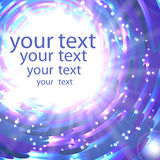 Abstract shimmering background. In blue colors with place for your text Stock Photos
