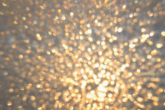 Abstract shining background. With blured bokeh lights Stock Photo