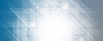 Abstract shining banner. Lightening colors full Royalty Free Stock Photos