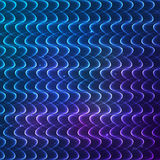 Abstract shining lines vector cosmic background Stock Image