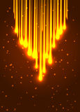 Abstract shining optic fiber background. Abstract shining meteor. Vector illustration eps 10 Royalty Free Stock Photo