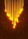 Abstract shining optic fiber background Royalty Free Stock Photo