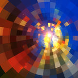Abstract shining vector mosaic background Stock Photo