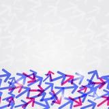 Abstract Shiny Arrow Background Card Royalty Free Stock Photography