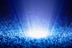 Abstract shiny background. Abstract background - bright shiny blue lights Royalty Free Stock Images