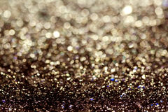 The abstract shiny background glitter blur colorful festive Royalty Free Stock Photography