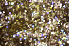 The abstract shiny background glitter blur colorful festive Royalty Free Stock Images