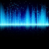 Abstract shiny background with particles. Eps10 Royalty Free Stock Image
