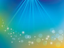 Abstract shiny background with rays - vector Royalty Free Stock Photography