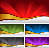 Abstract shiny backgrounds Royalty Free Stock Photography