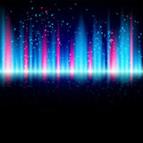 Abstract shiny blue and red background with particles. Eps10 Royalty Free Stock Image