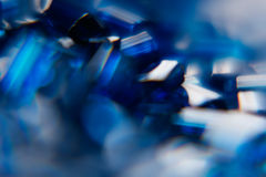 Abstract shiny blue sapphire background. Blurred. Background. Stock Photography