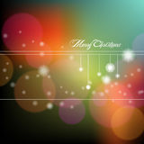 Abstract shiny christmas background. Vector illustration. bright colorful christmas background with light effect Royalty Free Stock Photo