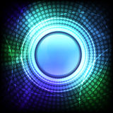Abstract shiny circle background Stock Photography