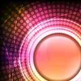 Abstract shiny circle background Royalty Free Stock Photos