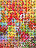Abstract shiny colorful dot background Royalty Free Stock Photo