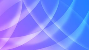 Abstract Shiny Curves in Blurred Blue and Purple Background stock illustration