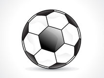 Abstract shiny football design Royalty Free Stock Photos