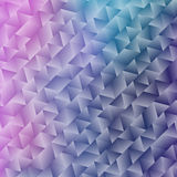 Abstract Shiny Geometric Background with Triangles Stock Photography
