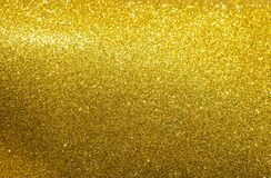 Abstract shiny gold texture background. Abstract shiny glitter gold texture background royalty free stock photo