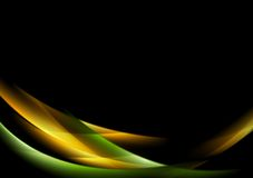 Abstract shiny glow waves background Royalty Free Stock Photo