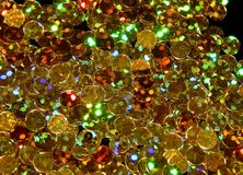 Abstract shiny golden background of Christmas shimmers stock photo