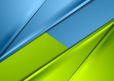 Abstract shiny green and blue smooth contrast background. Abstract shiny green and blue smooth contrast material background. Vector graphic design Royalty Free Stock Photos