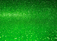 Abstract shiny green glitter background. Festive concept background Stock Photos