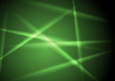Abstract shiny green glowing stripes layout design Stock Photos