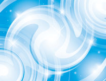 Abstract shiny light blue background - vector Royalty Free Stock Photos