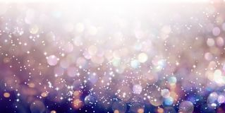 Abstract shiny light and glitter background. Beautiful abstract shiny light and glitter background Stock Image