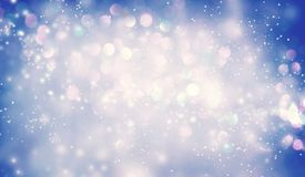 Abstract shiny light and glitter background. Beautiful abstract shiny light and glitter background Stock Photography