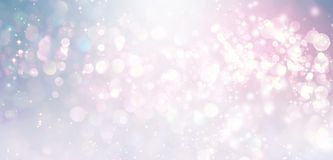 Abstract shiny light and glitter background. Beautiful abstract shiny light and glitter background Royalty Free Stock Image