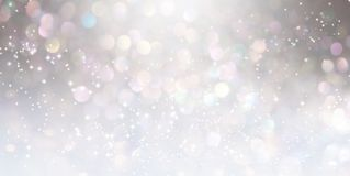 Abstract shiny light and glitter background. Beautiful abstract shiny light and glitter background Royalty Free Stock Images
