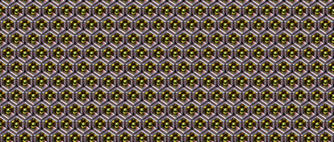 Abstract shiny metal object pattern 111 Stock Photo