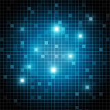 Abstract shiny rectangles background Royalty Free Stock Image