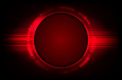 Abstract shiny red background Stock Photography