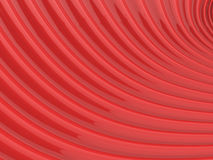 Abstract shiny red wave pattern. Background 3D illustration Stock Photos