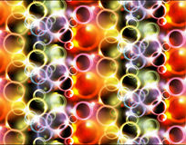 Abstract shiny seamless pattern. Abstract shiny bubbles seamless pattern Royalty Free Stock Photography