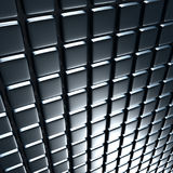 Abstract Shiny Silver Metal Background. 3d Render Illustration Royalty Free Stock Images