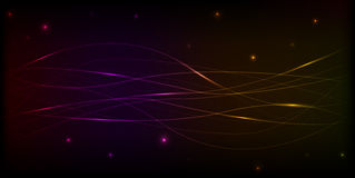 Abstract shiny space background Royalty Free Stock Photos