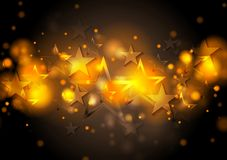 Abstract shiny stars background Royalty Free Stock Photo