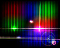Abstract shiny technology spectrum background. Stock Photo